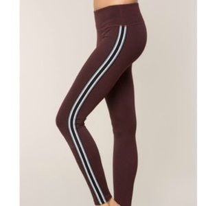 Spirtual gangster athletic practice stripe legging